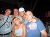 Первая дискотека. Денис, я, Барбарос (аниматор), Антонио и Катя