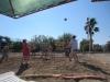 Игра в волейбол в самом разгаре