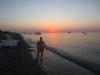 Это я встречал рассвет. Меня фотографировал Олег из Одессы, которому я в сыновья гожусь, отлично поговорили.