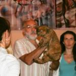 """Долго спорили об окрасе кота. Даниэль сомневался, что это Циннамон. Мне вообще послышалось """"Соломон"""")))"""