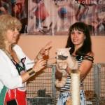 А это самая злая кошка на выставке
