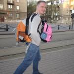 Приехали в Таллин в 5:30. Поспал всего час в автобусе, при этом бодрячком-бодрячком. Да, я как Вася из того анекдота))