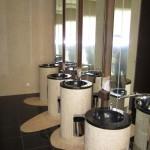 Так выглядит общий (!) туалет в отеле SwissOtel. Круто?