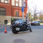 А это Harley Davidson, сфотканный в «мультяшном» режиме.
