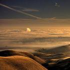 """Изображение прекрасного мира (иллюстрация к стихотворению """"Ты что-то потеряла на пути со мной..."""")"""